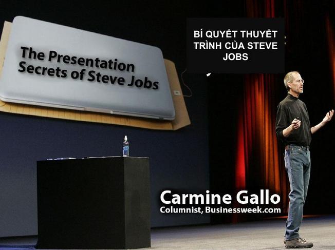 Top 10 Bí Quyết Thuyết Trình Của Steve Jobs