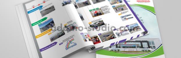 [Infographic] Brochure giới thiệu Trung tâm đào tạo lái xe an toàn Honda Việt Nam