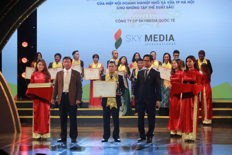 SkyMedia lần thứ 4 liên tiếp được vinh danh tại Đêm Doanh nghiệp