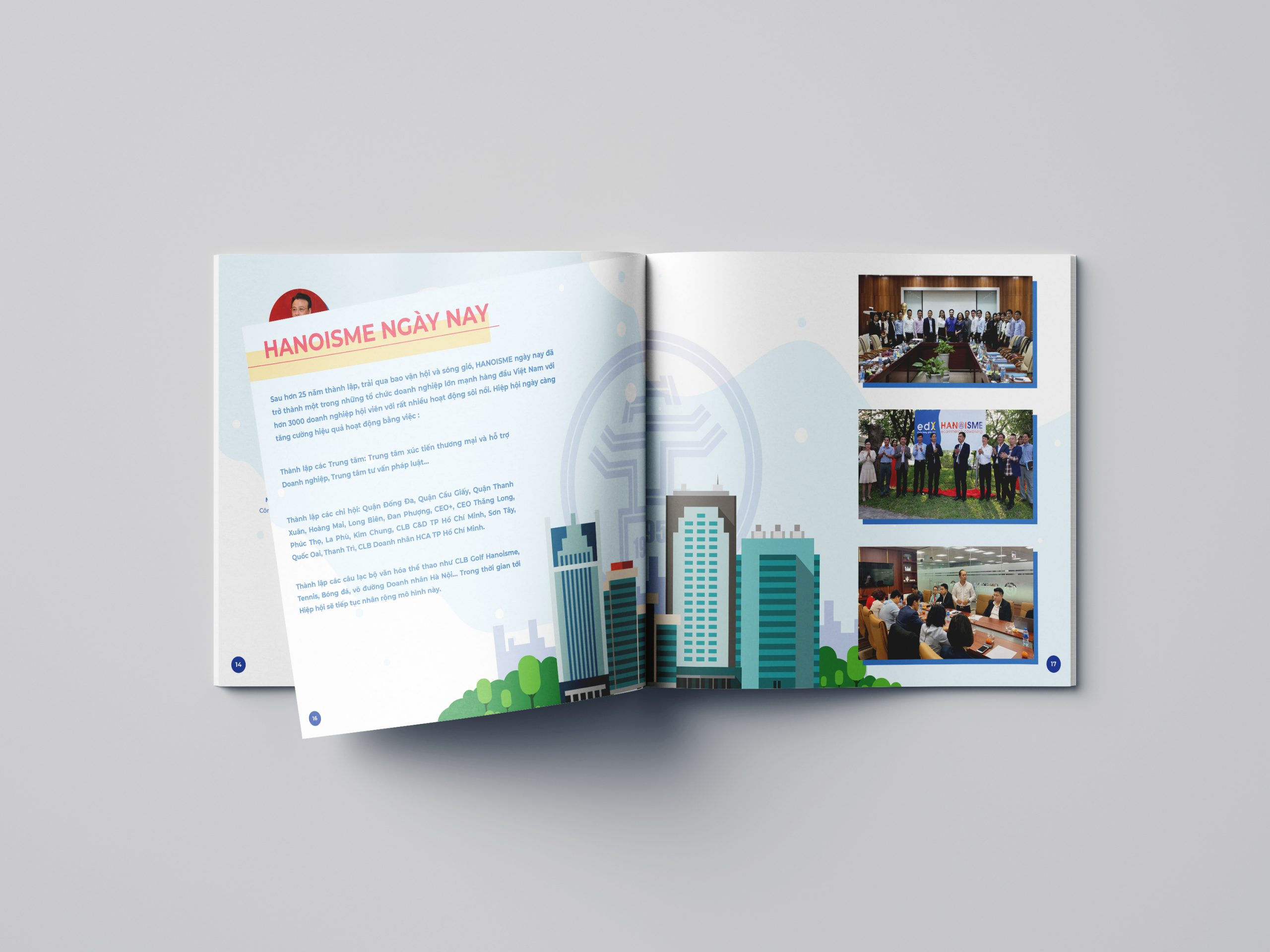 [Infographic] Hanoi SME brochure