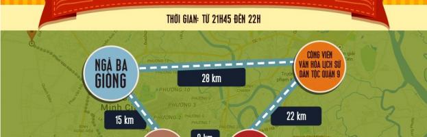 [Infographic] Bốn điểm xem bắn pháo hoa đẹp nhất ở Sài Gòn đêm 30/4