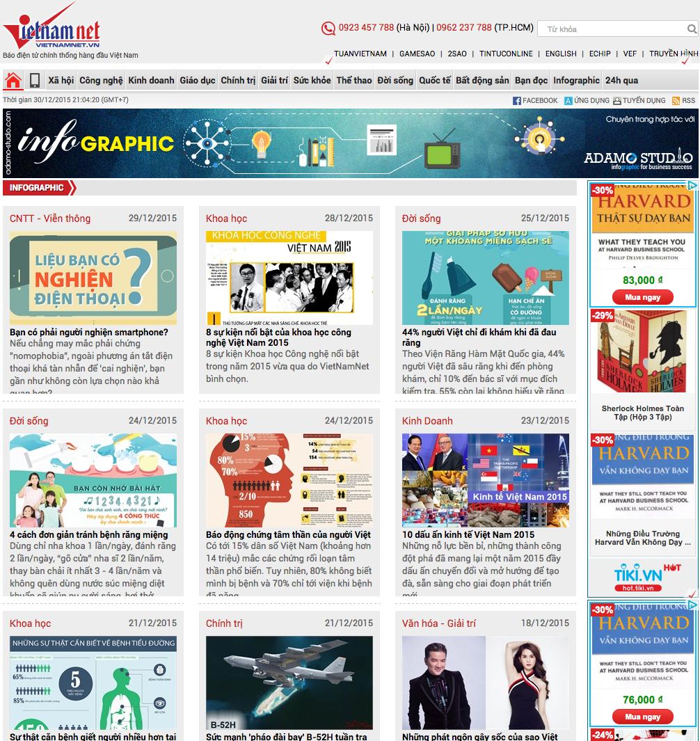 Adamo chính thức hợp tác mở chuyên trang trên báo Vietnamnet
