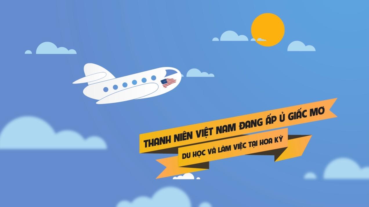 Giới thiệu Hội du học sinh Việt Nam tại Hoa Kỳ (Motion Graphic)