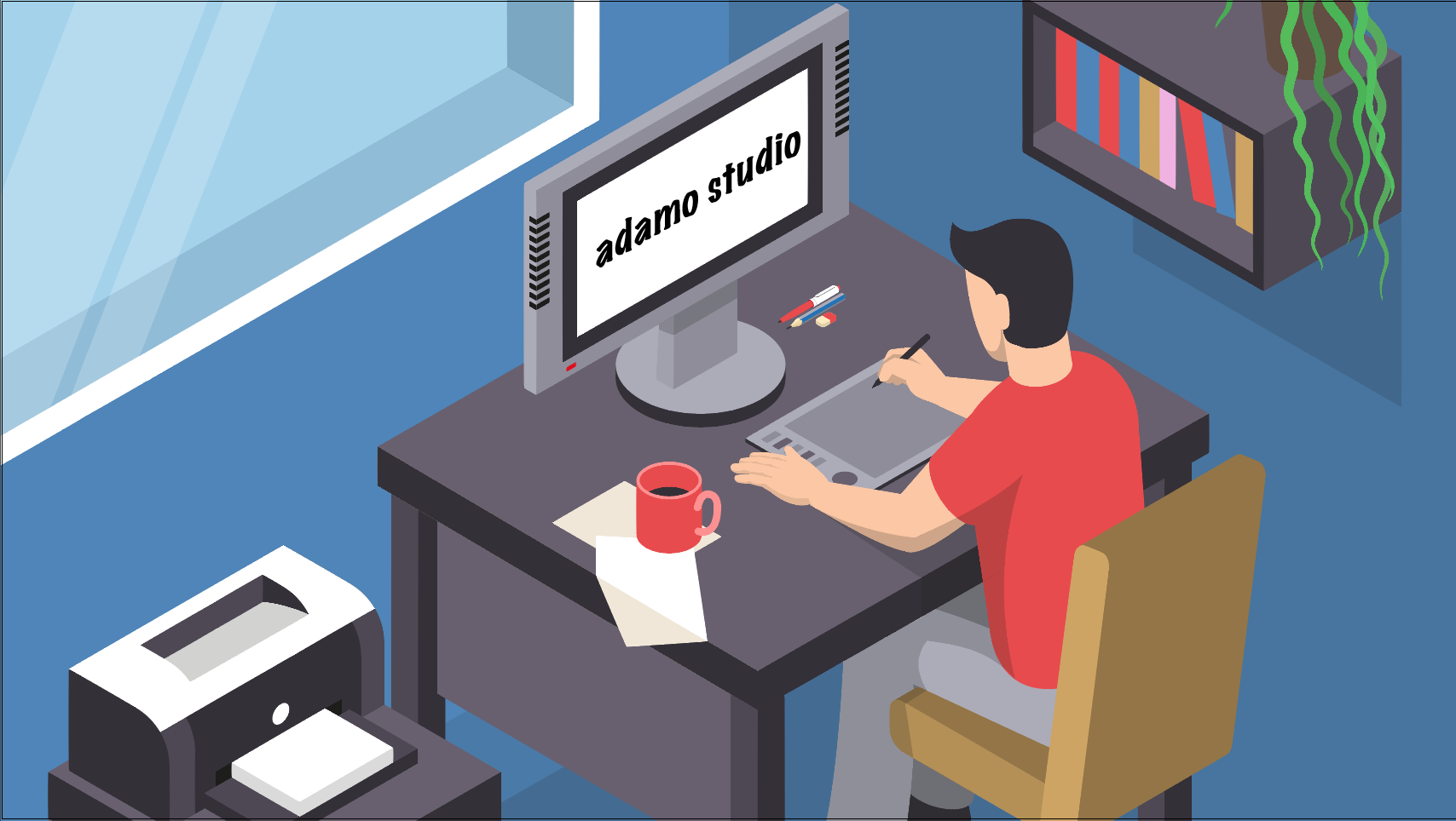Adamo Studio tuyển Designer (8-12M) và Motion Graphic/Animator (10-15M)